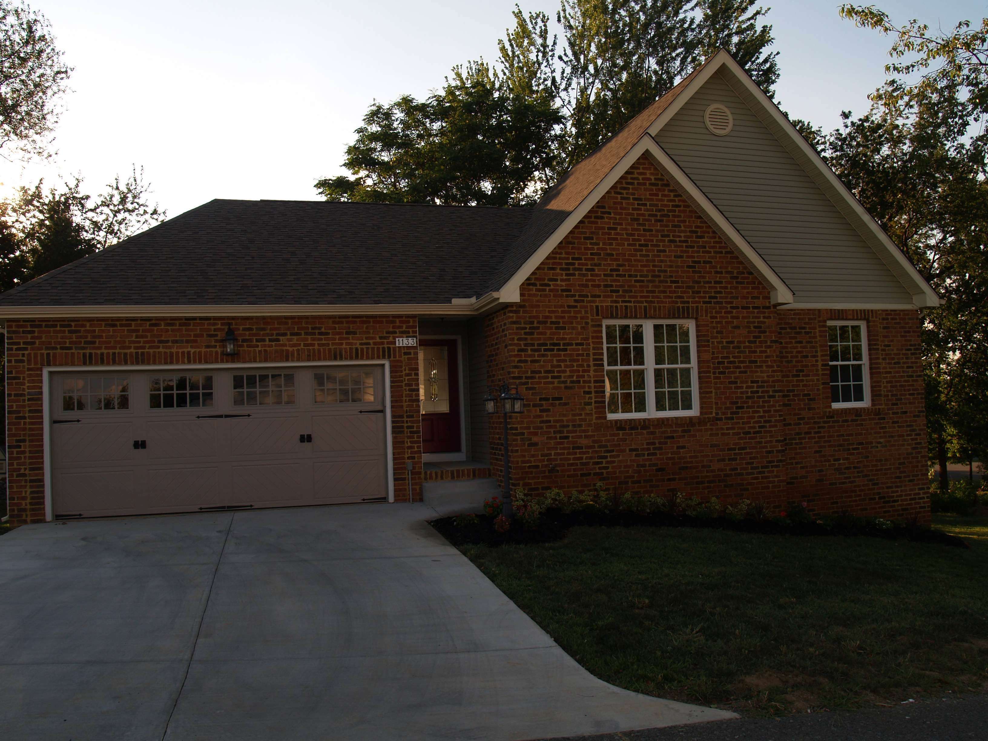Below Is A New Home We Just Completed In Winchester,VA.